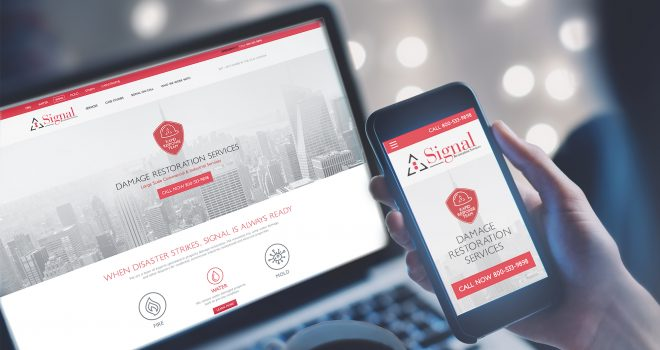 Signal Restoration Services' Website Wins 2 Silver ADDY Awards