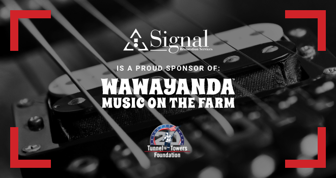 Signal Restoration Sponsors Music Festival to Benefit Tunnel to Towers Foundation.